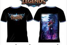 T Shirt Mobile Legend