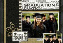 Graduation scrapbooking ideas