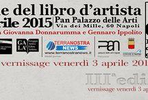 Biennale del libro d'artista / Biennale del libro d'artista ideata e curata da Giovanni Donnarumma e Gennaro Ippolito