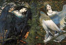 Syreny - inspiracje / Mermaids - inspirations