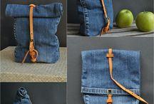 upsicling jeans