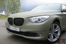 BMW 5GT - combat green