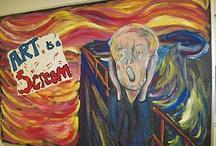 ART Room Walls / by Jennifer Johnson