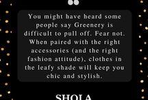 Shola Says