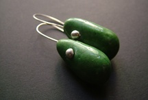 raku ceramic earing