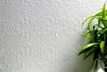 pressed tin wallpaper\