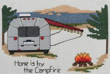 Camping Cross Stitch Patterns / Camping Cross Stitch Pattern by Camp Cross Stitch