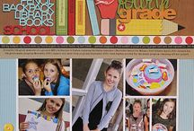 Scrappy School Pages / School Themed Layouts / by Judy Chatham