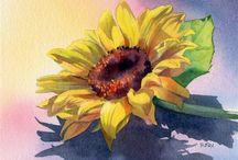 bloemenschilderen