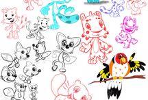 Character&Concept Design / Character Designs by Yücel Çavdar