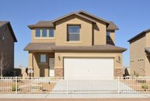 Robert Floor Plan 2 / 1,715 square feet, 3 + Loft, 2.5 bathrooms, 2 levels available in TDE 67, Mission Ridge www.desertviewhomes.com