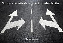 La contradicción / Frases sobre las contradicciones