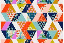 Triangle Quilt Ideas