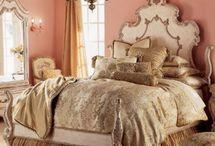 Master Bedroom Inspiration / http://ourbarbiedreamhouse.blogspot.com/