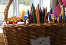 organizing ideas / by Rose Feroah