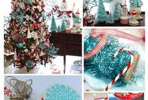 Christmas Style Series: Blue & Coastal Christmas