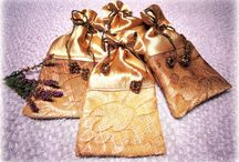 Betula Alba - gift bags / artistic gift bags, decorative pouches, jewelry pouches