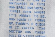 """10FFT: cross stitch / 1. Create a new Pinterest board under the name """"10FFT: cross stitch"""" 2. Find and pin an explanation/diagram of how to cross stitch 3. Find and pin as many exciting and interesting examples of cross stitch as you can - this is not limited to cross stitch in its traditional form... 4. Print these images out and glue into your visual diary under the heading /Cross-stitch/"""