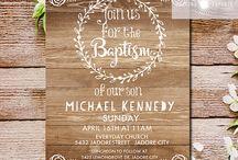baptims invitation