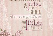 Bibelverse, die wir mögen / Bibelverse, die wir mögen