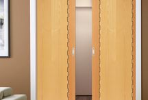 Pocket Doors / New for 2015 - Space saving pocket door solution that brings contemporary style to your home.