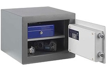 £2,000 Cash Rated Safes / These Safes have a 2k Cash rating and 20k valuables. These safes are available from www.littlesafe.co.uk