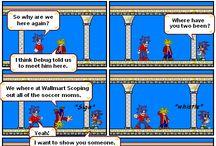 Super Mario Comics / Comics featuring Super Mario