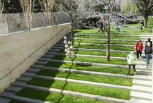 outdoor stair - ramp