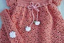 Crochet dresses / Crochet dresses for baby girls