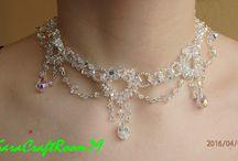 Le mie creazioni di perline ( my creation jewerly bead ) / alcune delle mie creazioni con perline