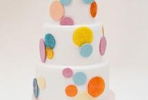 Geometric Wedding Cakes  / Geometric wedding cakes, a 2014 wedding cake trend.