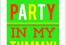 there's a party in my tummy! / by Pam Reidhead