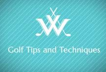 Golf Tips & Techniques / Tips to help your game. Practice at WGC. www.willoughbygolfclub.com