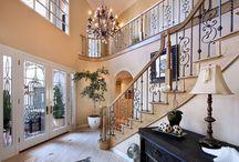 Escadas, portas, balcões, sacadas, lustres, vitrais / Escadas sofisticadas, artísticas, criativas, bem aproveitadas...,  / by Onilda Salete Giaretta