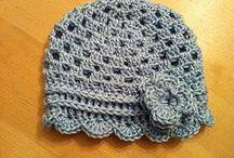 Easy crochet hats children