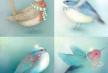 Bird Art / Bird ideas / by Alicia Stephenson