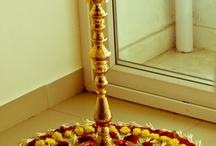 Ganpati Pooja decoration