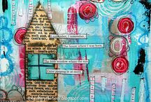 Art journal / Inspiration for art journaling or mixed media work in general. Great source for quotes.