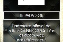 JET7 GENERIQUES TV / Association loi 1901 Site officiel de la #JetSet de #France et d'#Europe http://jet7.generiques.tv