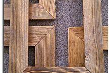 Ramy / Cadres / Rahmen / Frames / Ramy ze starego drewna