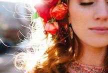 hair floral
