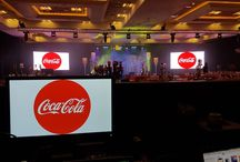 Coca Cola Awards / Led Screen, Sound, Lighting & Staging