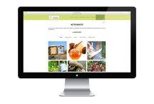 DISEÑO WEB / Sitios web diseñados y desarrollados por Think diseño, comunicación & +