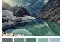 Холодная гамма -> Цвета / Cool Colors