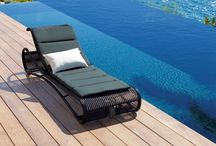 Outdoor Sun Lounges / We have put together a great range of high  end sunbeds and sun lounges that will look great in any outdoor area.