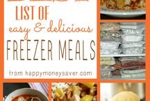 Recipes-Freezer Meals