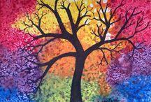 Tree Art ༺♥༻ / by Jill Ness