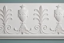 Plaster frieze