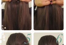 Crazy easy beauty bites: Hair / This is a great place for inspiration on cuts and colors as well as beautiful hair styles!