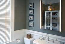 guest bathroom / by Brooke Ratcliff
